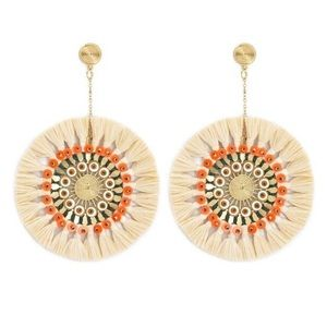 Forever 21 Mandala Drop Earrings